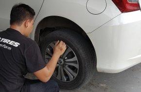 เพื่อการขับขี่ที่ปลอดภัย มาใส่ใจเช็คสภาพและเปลี่ยนยางรถยนต์กันเถอะ