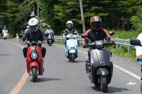 HSEM บุกตลาดรถจักรยานยนต์ไฟฟ้า เปิดตัวพร้อมกัน 3 รุ่น 4 สไตล์..ลองขี่แบบสั้นๆ