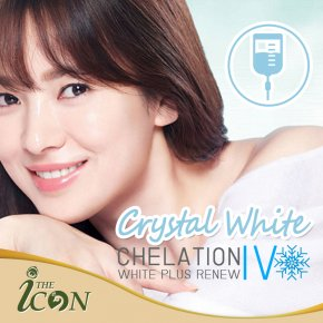 Crystal White Chelation (IV) White Plus Renew เติมเต็มวิตามินให้แก่ผิว