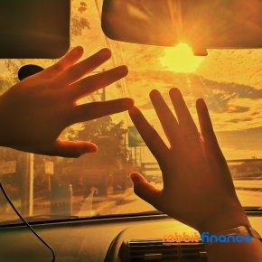 เทคนิคขับรถท่ามกลางแสงแดดในประเทศไทย