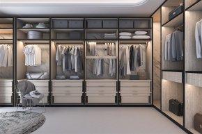 ไอเดียการออกแบบตู้เสื้อผ้า Walk-in closet อย่างไรให้ลงตัว
