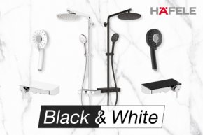 Black & White ตกแต่งห้องน้ำให้แตกต่างอย่างมีสไตล์ในแบบคุณ
