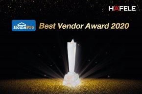 เฮเฟเล่ คว้ารางวัล Best Vendor Award 2020 จาก บริษัท โฮม โปรดักส์ เซ็นเตอร์ จํากัด (มหาชน)