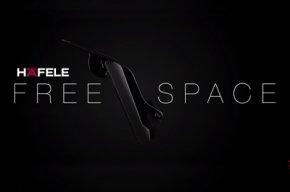 Free space อุปกรณ์บานเปิดเฟอร์นิเจอร์รุ่นใหม่รองรับน้ำหนักได้มากถึง 15 กก.
