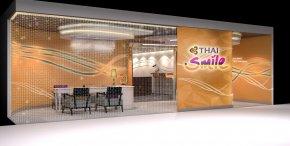 ผลงานการออกแบบ Thai Smile Lounge.