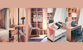 ออกแบบตกแต่งห้องเล็กๆ ให้ Flexible ( The place we call Home )