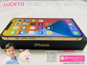 12PROMAX 128GB GOLD 2SIM มือสอง