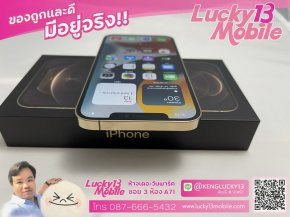 12PROMAX 256GB GOLD ศูนย์ไทย TH