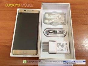 รับซื้อ Samsung s6 edge toyota สีทอง ราคาสูง