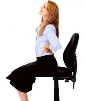 ลดอาการปวดเมื่อยจากการนั่งทำงาน