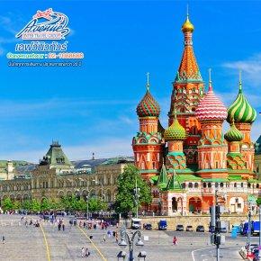 ทัวร์ยุโรป เที่ยวรัสเซีย มหาวิหารเซนต์บาซิลที่แลกมาด้วยดวงตาของผู้สร้าง