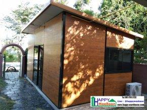 รับสร้างบ้านพัก บ้านสำเร็จรูป บ้านน็อคดาวน์ ขนาดเล็ก