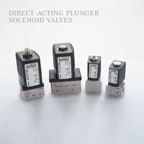 Solenoid valves Direct-acting plunger
