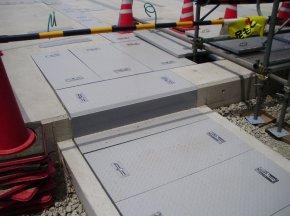 FRP Checker plate manhole ฝาปิดบ่อไฟเบอร์กลาสแบบแผ่น