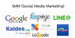 ระบบการตลาด Online SMM (Social Media Marketing)