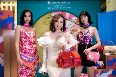 Oriental Princess Veda and Vanda Signature Bags Designed by VATANIKA