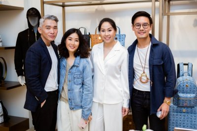 MCM POP-UP AT SIAM PARAGON SOFT OPENING PARTY