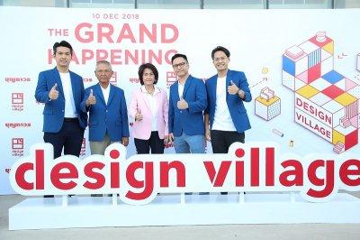 "Boonthavorn เปิดตัว ""Design Village เอาใจคนแต่งบ้านในยุค 4.0 One Stop Happening ครบจบในที่เดียว"