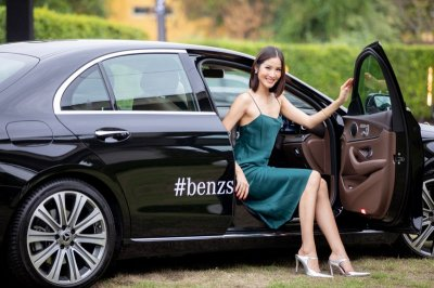 """Suanluang Autohaus ชวนเซเลบริตี้ สัมผัสประสบการณ์การขับขี่ """"เมอร์เซเดส-เบนซ์ อีคลาส"""""""