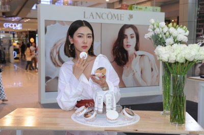 """Lancôme เปิดตัว """"สู่ขวัญ"""" แบรนด์ไอคอนคนแรก พร้อมแนะนำ 2 ผลิตภัณฑ์ใหม่ เพื่อผิวขาวกระจ่างใสไร้ที่ติ"""