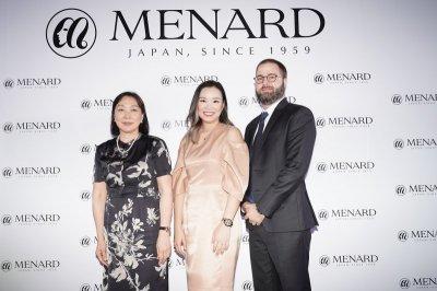 MENARD ลักซ์ชัวรี่แบรนด์จากญี่ปุ่น เปิดตัวแฟล็กชิพเคาน์เตอร์ ที่สยามทาคาชิมายะ ไอคอนสยาม
