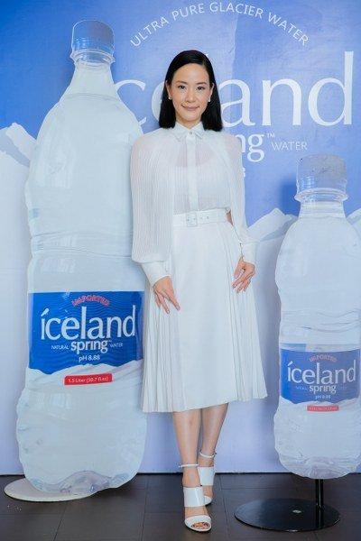 """น้ำแร่ธรรมชาติ """"ไอซ์แลนด์ สปริง"""" (Iceland Spring) เปิดตัวขนาดใหม่ ณ ร้านข้าว (KHAO) เอกมัยซอย 10"""