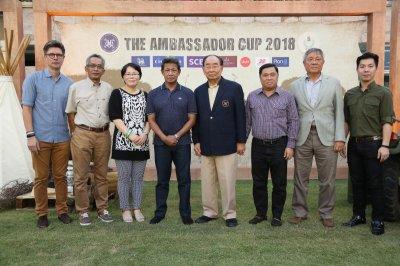 """เซเล็บแปลงโฉมเข้าธีม """"ทไวไลท์ ซาฟารี"""" ในงานชิงแชมป์โปโล """"The Ambassador Cup 2018"""" ครั้งที่ 11"""