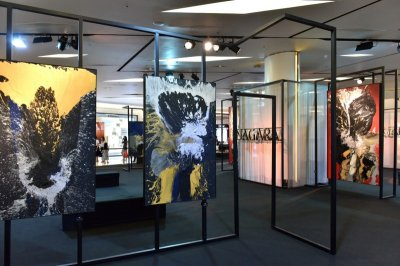 """NAGARA Painting Exhibition"" ผลงานภาพวาดแอ็บแสต็รกสุดเอ็กซ์คลูซีฟ โดย ""นาการา"""