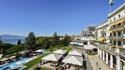 ตื่นตาไปกับสวิสซัมเมอร์สุดหรู ที่โรงแรม Beau Rivage Palace เมืองโลซานน์ สวิตเซอร์แลนด์