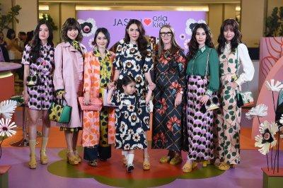 """Jaspal"" จับมือดีไซเนอร์ชื่อดังระดับโลก สร้างสรรค์คอลเลกชั่นพิเศษแห่งปี ""Jaspal X Orla Kiely"""