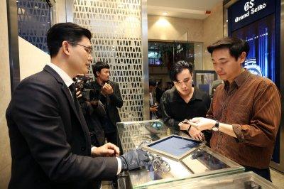 แกรนด์ โอเพนนิ่ง บูติกนาฬิกา Grand Seiko แห่งแรกในเอเชียตะวันออกเฉียงใต้
