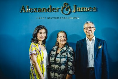 Alexander & James ถ่ายทอดมนต์เสน่ห์ชวนหลงใหล สะท้อนกลิ่นอายแบบฉบับอังกฤษ แห่งแรกในเอเชีย!