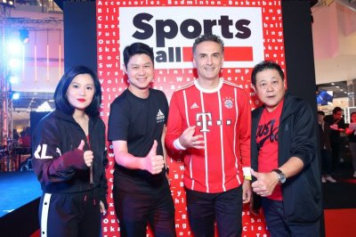 "SPORTS MALL พลิกโฉมใหม่สู่""THE HEART OF GLOBAL FLAGSHIP STORES  FOR SPORT LIFESTYLE"""