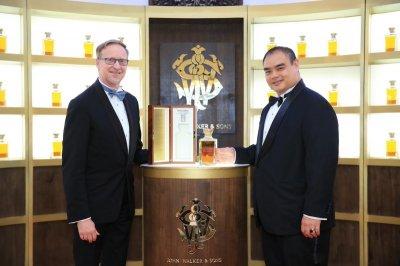 "Johnnie Walker เปิดตัว เอ็กซ์คลูซีฟ วิสกี้ รังสรรค์ขึ้นเพื่อไทย ""The John Walker & Sons Siam Blend"""