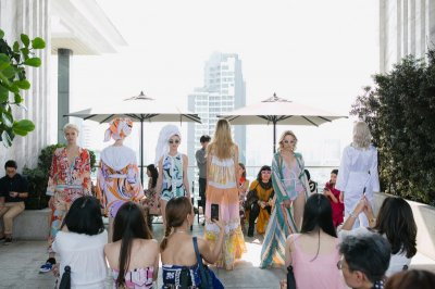 Emilio Pucci Spring-Summer 2018 POOL PARTY