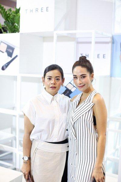 THREE เปิดตัว  'อ้อม' สุนิสา เป็น THREE BRAND FACE คนแรกของไทย พร้อม THREE 2019 BASE MAKEUP