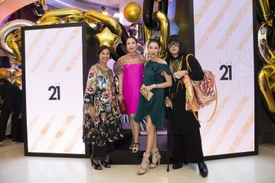 A GLAM NIGHT OUT WITH CLUB 21 SQUADS