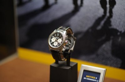 BREITLING เผยโฉมแคมเปญ #SQUADONAMISSION พร้อมเปิดตัวนาฬิกานักบินคอลเลคชั่นใหม่ Navitimer 8
