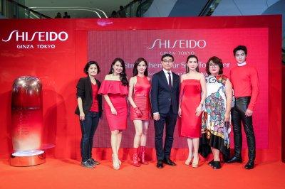 แต้ว ณฐพร ควง เจมส์ จิรายุ ร่วมงาน Strengthen Your Soul Together By Shiseido Ultimune