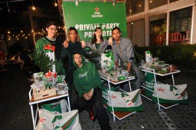 "Heineken Open Your Celebration 2017 ส่งท้ายปีพร้อม ""Star Delivery Service"" กับปาร์ตี้แบบตรงถึงที่"