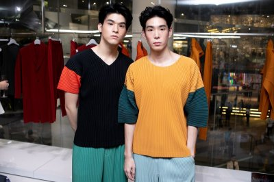 Thailand's first official launch of HOMME PLISSÉ ISSEY MIYAKE