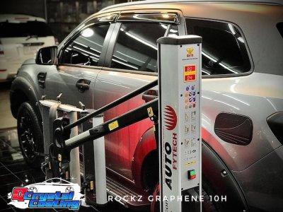 เคลือบแก้วกราฟีน ROCKZ GRAPHENE 10H รถฟอร์ด Everest Ford