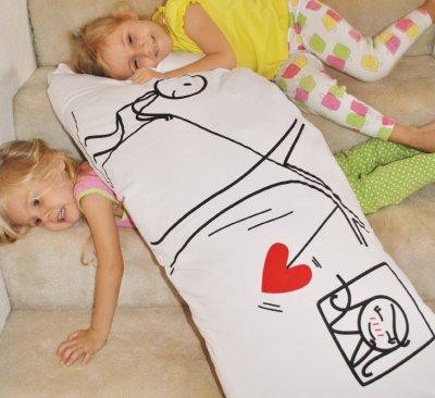 混合棉软枕套