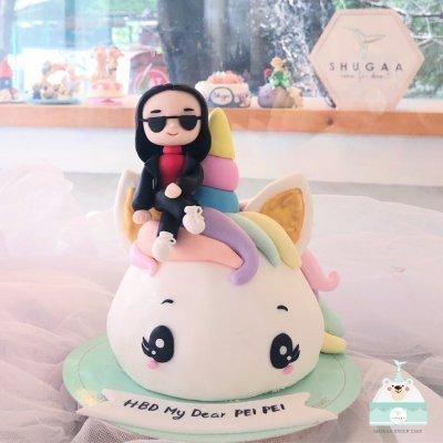 เค้กโพนี่ Unicorn cake