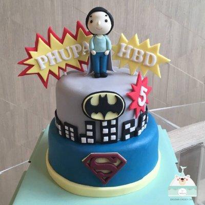 เค้กซุปเปอร์ฮีโร่ Superhero cake