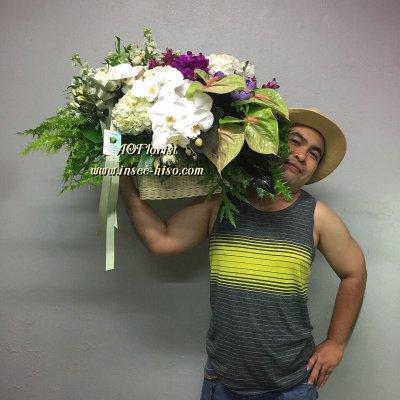 ตะกร้าดอกไม้