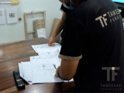 งานการออกเเบบของ TF เเละการวางเเผนร่วมกันของทีมงาน TF