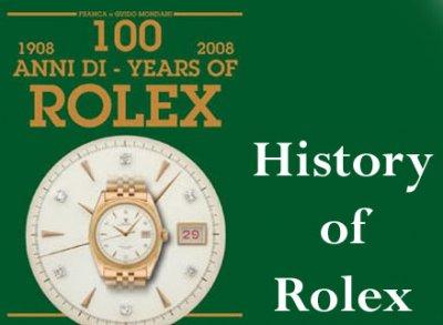 ตำนาน Rolex (Rolex History)
