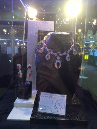 Ploi Thai Jewelry Creation Award in Bangkok Gems & Jewelry Fair ครั้งที่ 55  February  2015  By   Lee Seng Jewelry (L.S. Oriental Jewelry)