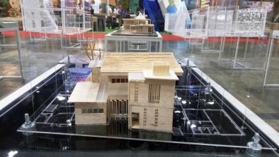 Baan Mai Kradan Mockup @Architect Expo 2017